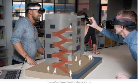 Windows Store's first HoloLens app- SketchUp