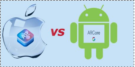 GOOGLE VS APPLE in an augmented reality world this time!