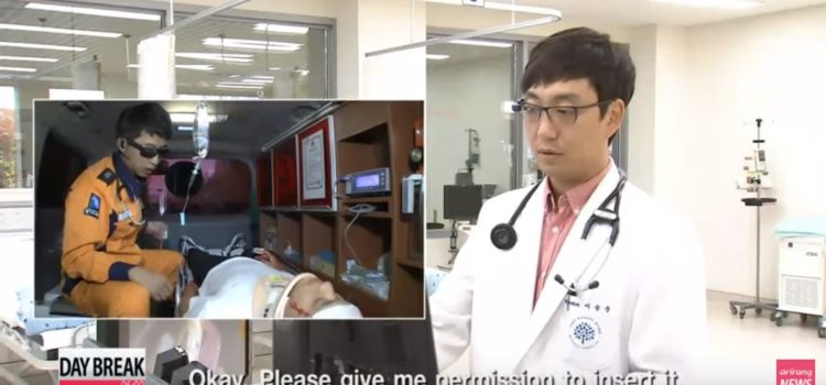 Google Glass in Korea's healthcare system