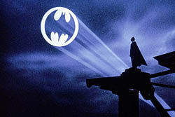 Wearable device sends Bat signal for help?