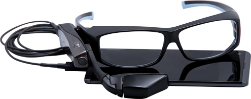 Another competitor to Google Glass