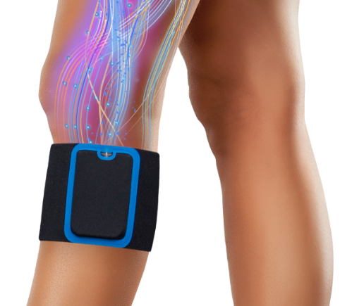 Wearable chronic pain relief device