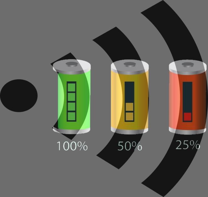 Near-infrared (NIR) wireless self-charging system