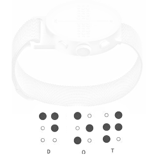 Dot- A unique braille smart watch
