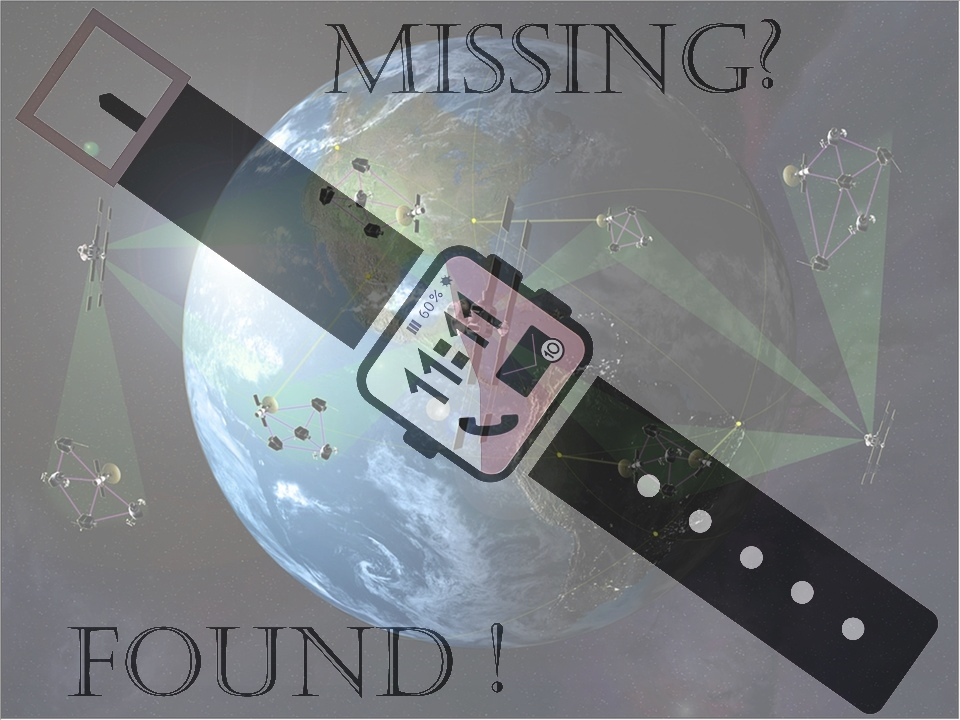 Wearables for finding vulnerable missing people!