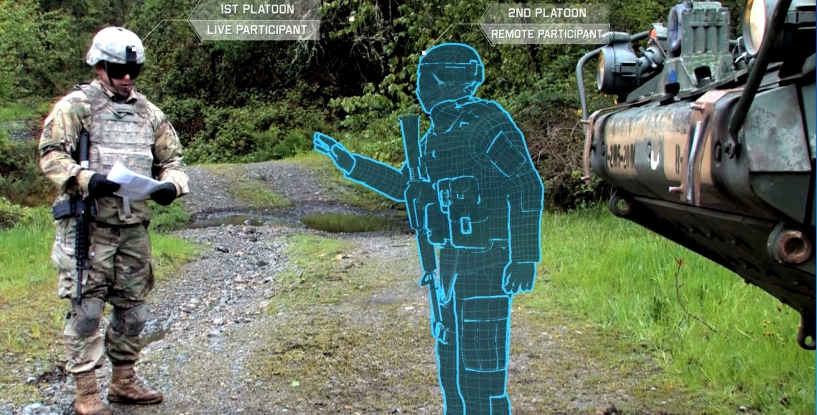 The HoloLens Soldier