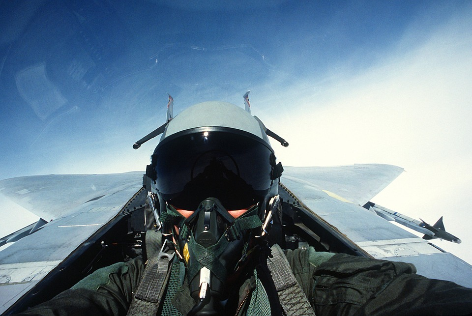 Wearables for fighter pilots